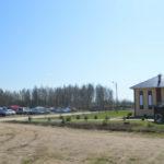 """стоянка на турбазе """"Горизонт"""" в Новой Ладоге"""