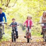 Велосипедные прогулки летом